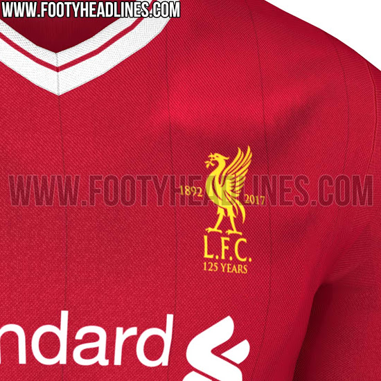 e9209a142 The New Liverpool  125th Anniversary  Jersey Has Leaked And It s A ...