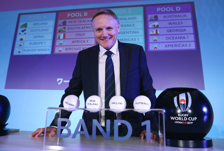 Ireland handed favourable 2019 Rugby World Cup draw