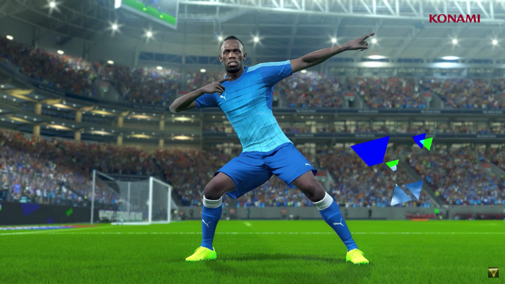 Usain Bolt Will Be Making A Special Appearance In PES 2018