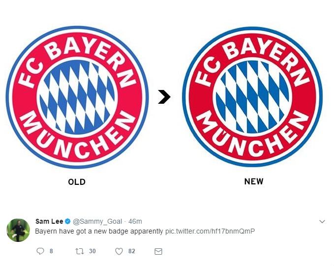 new Bayern badge
