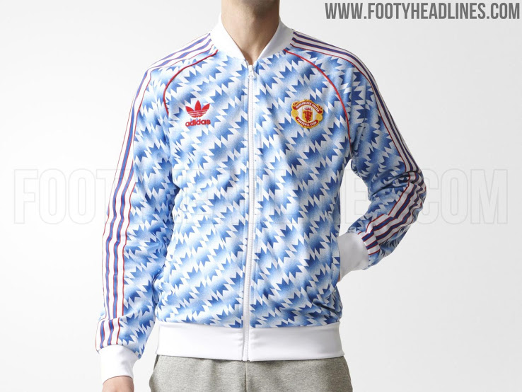 19a7104a3 Adidas  New Line Of Man Utd Retro Themed Gear Might Be The Best Yet ...