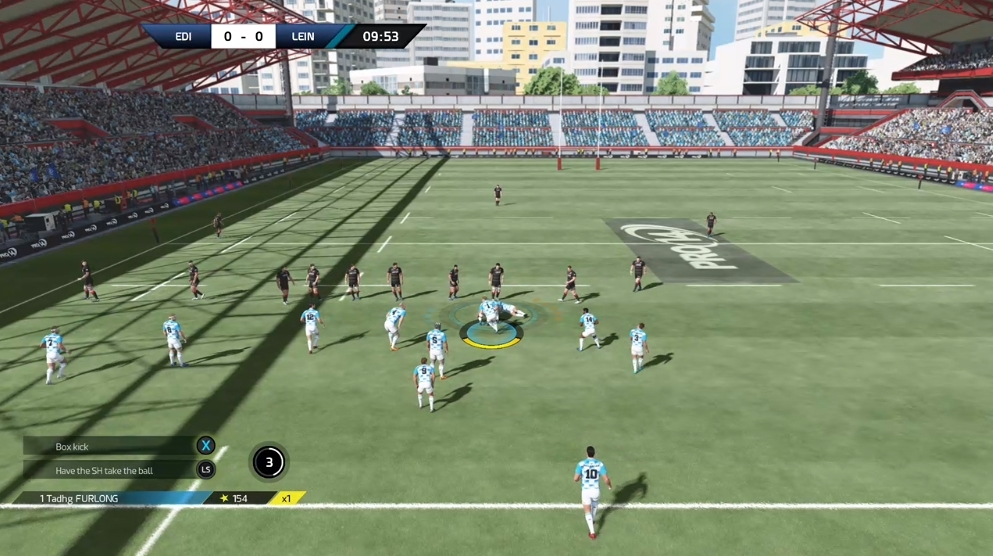 Review Rugby 18 Is A Broken Disgrace Of A Video Game Balls Ie