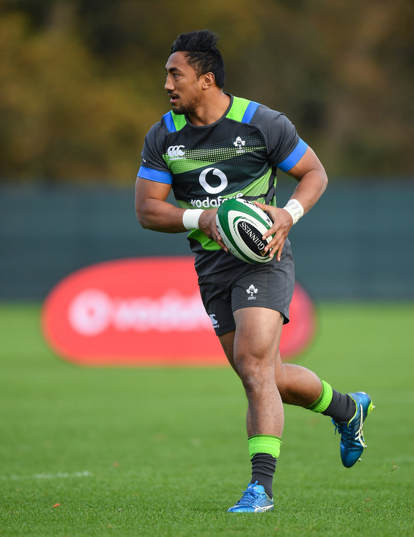 Bundee Aki to make Ireland debut against South Africa
