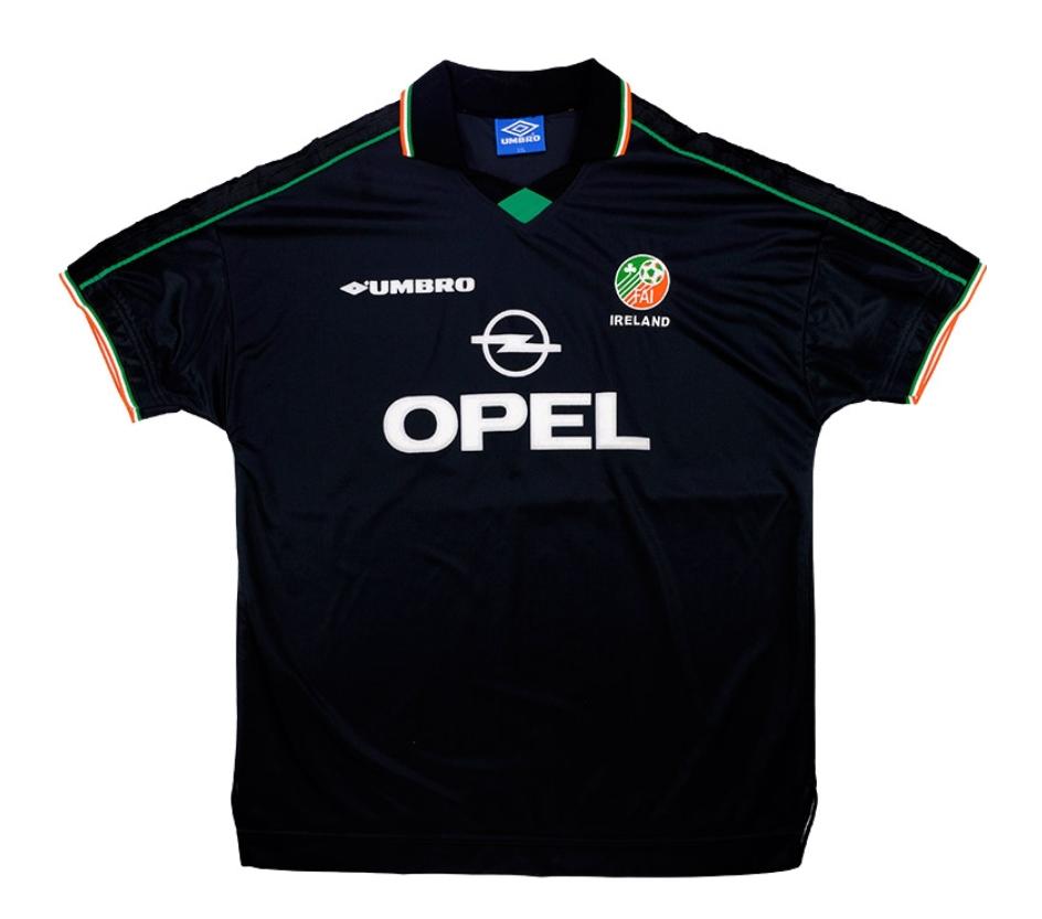 ireland black jersey