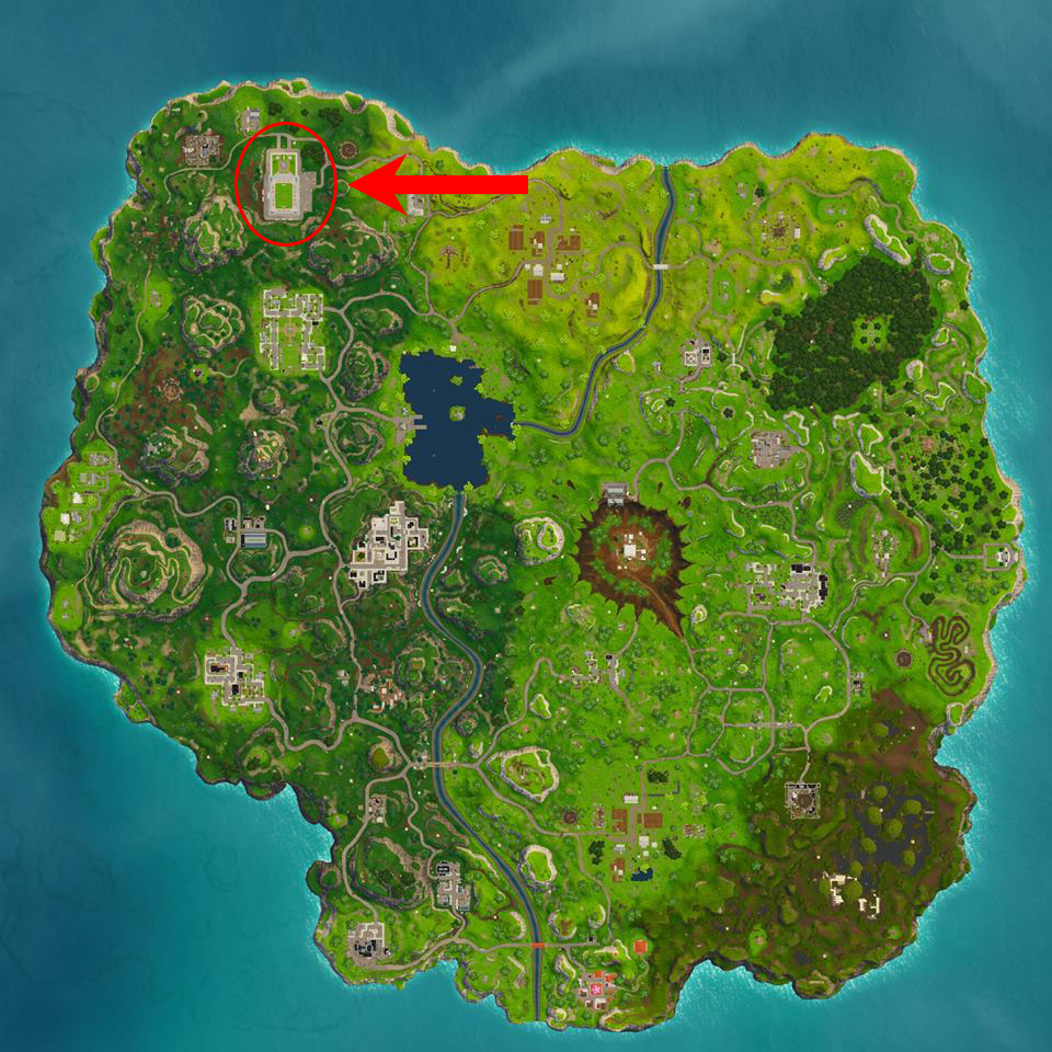 Heres Where To Find The New Secret Soccer Pitch In Fortnite Ballsie