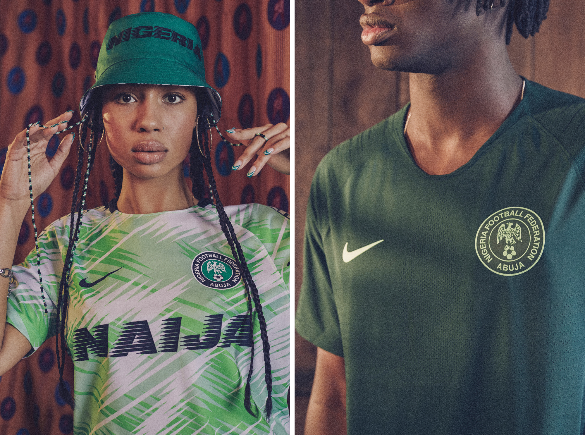 cef2d4e165c Nigeria Releases Gorgeous Line Of World Cup Jerseys & Sportswear ...