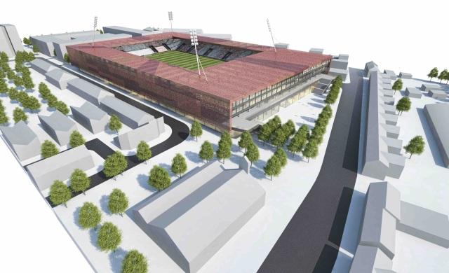 st. pat's new stadium inchicore richmond arena