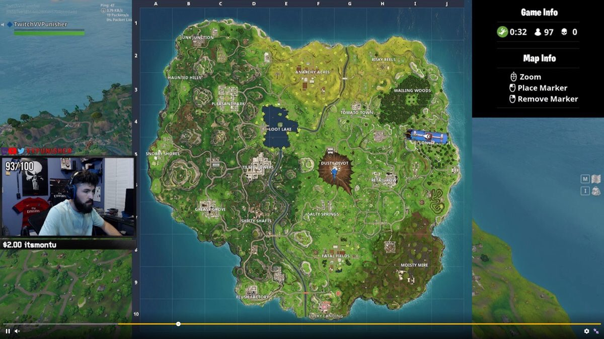 Dusty Depot Destroyed The New Fortnite Map Is Here Balls Ie