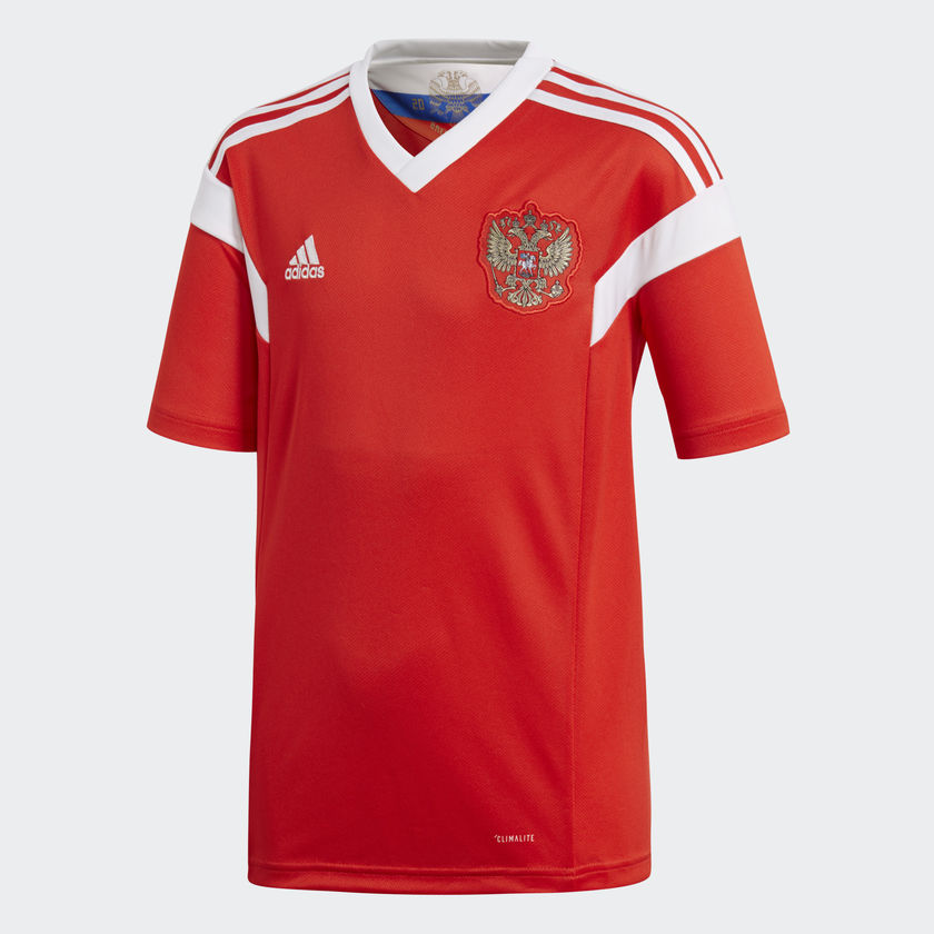 33e74dbef Russia. Bog standard. Uninspiring from the host nation. Looks like a jersey  you could get in Aldi.