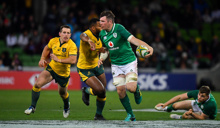 Wallabies query Ireland blocking tactics