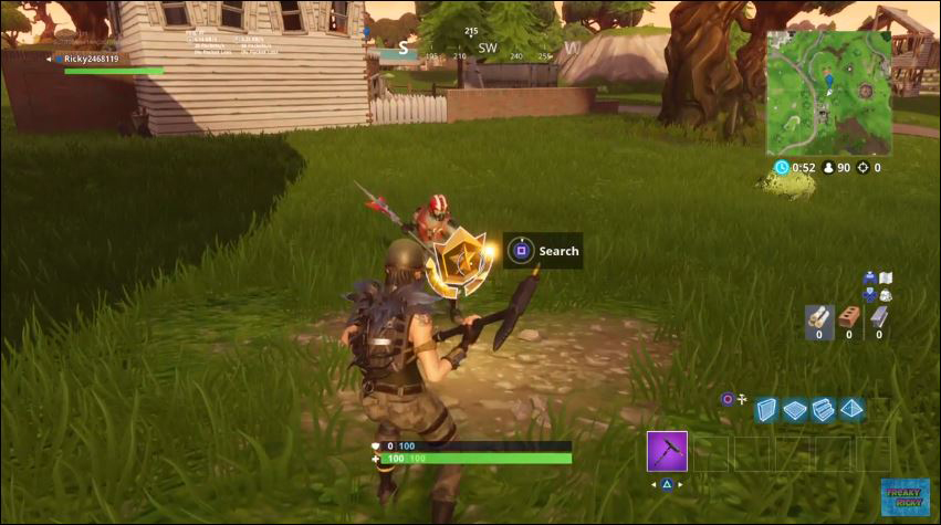 so there you have it as always make sure to either win the game or get yourself killed afterwards because if you just quit then the challenge won t - fortnite search between a bear