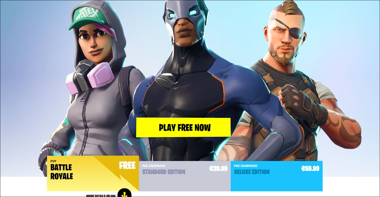 is fortnite free to play