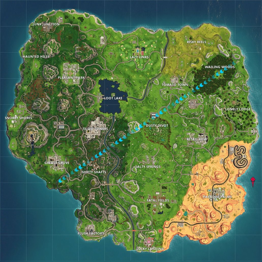new fortnite map - new map in fortnite
