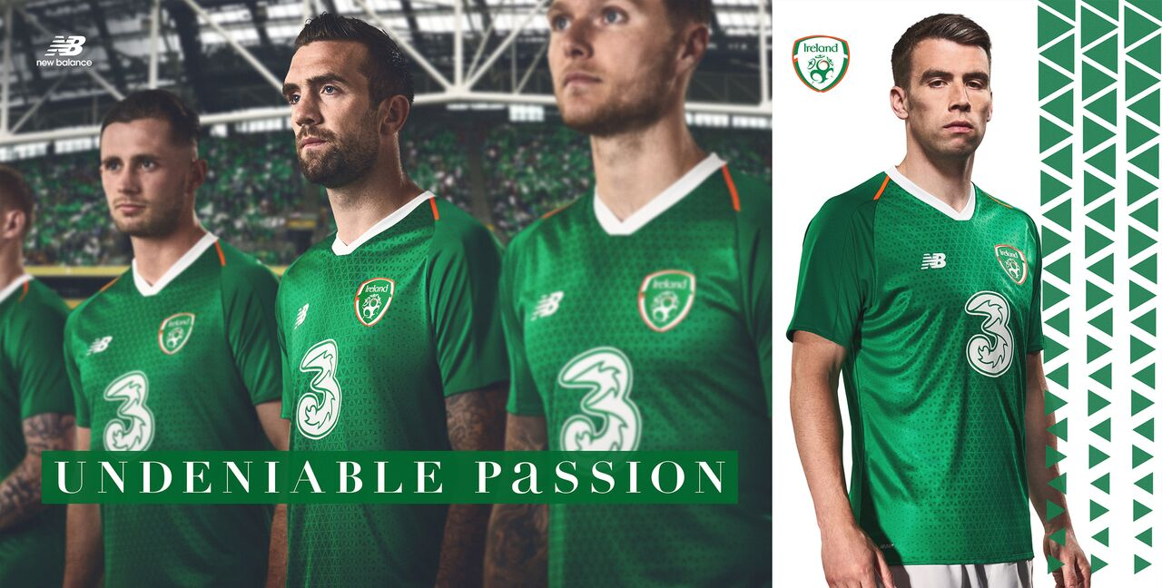 a9532128e Ireland Release Shiny New Home Jersey For 2018 19 Season