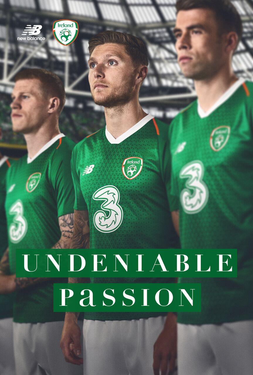 uk availability 00ca1 03ae7 Ireland Release Shiny New Home Jersey For 2018/19 Season ...
