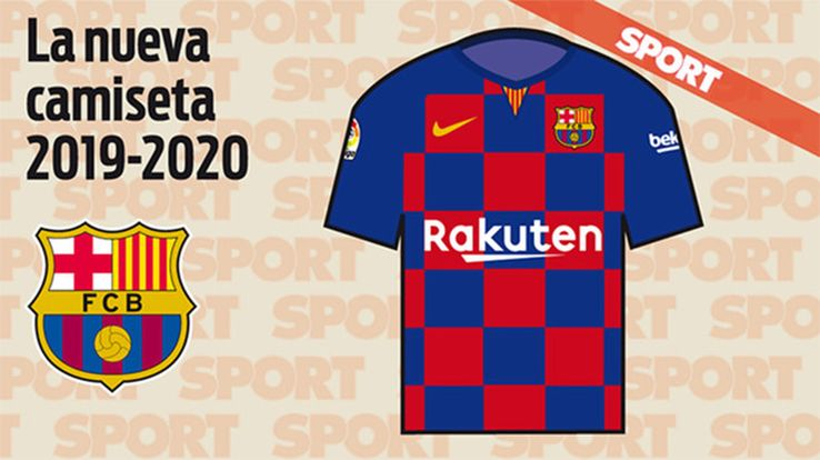 187ff0b5b There have also been images of a limited edition mash-up kit which Nike and  Barcelona are reportedly releasing to mark 20 years in partnership.