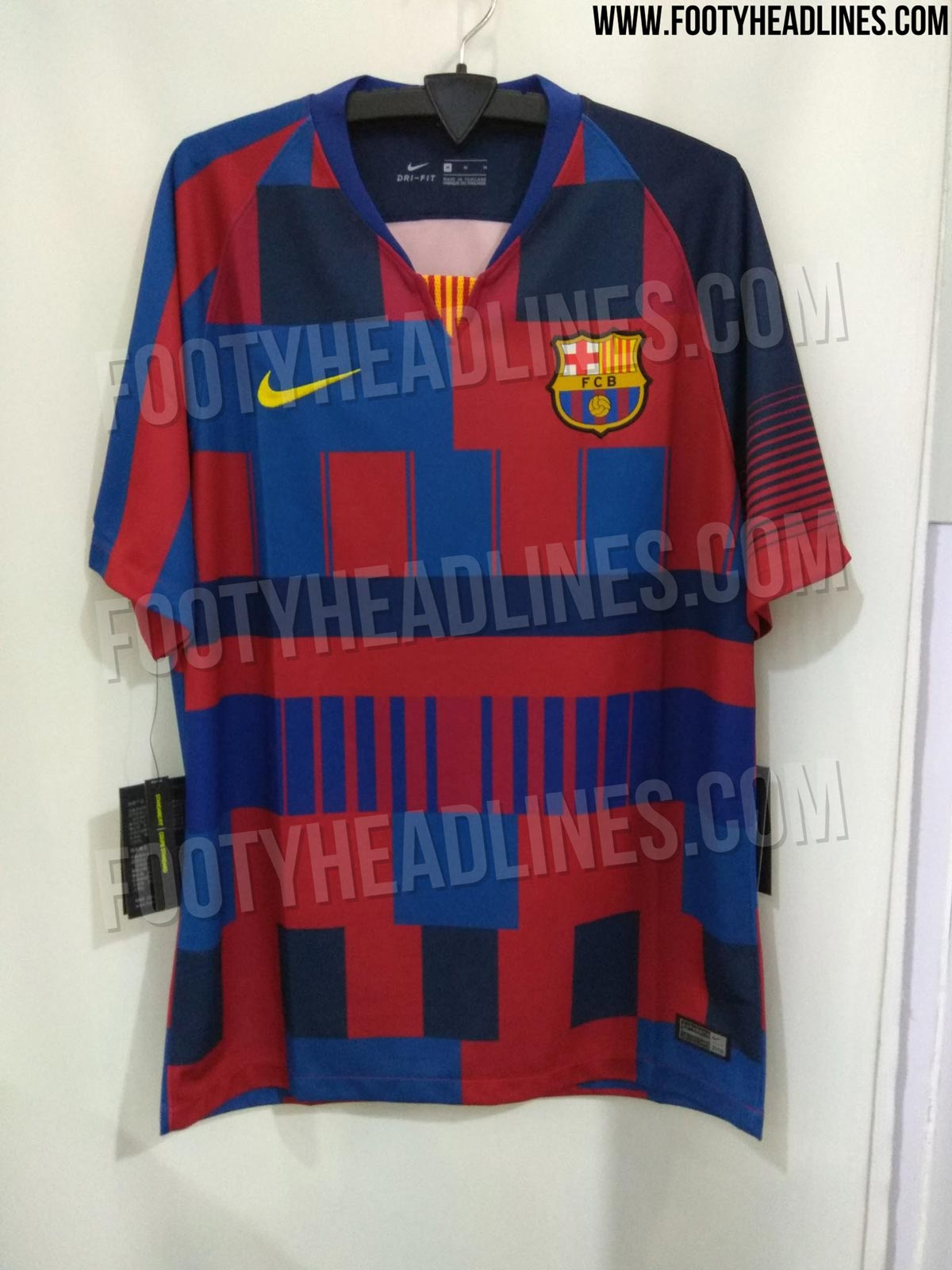 new arrival fa253 ed99d Barcelona Set To Mark 20 Years With Nike With Hideous Bar ...