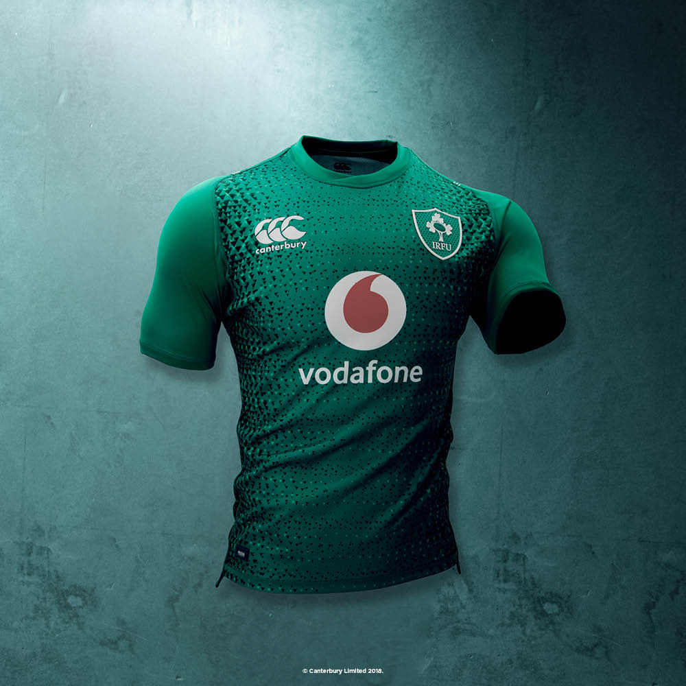 timeless design 422d6 1887f Canterbury Release New Irish Rugby Home And Alternate ...