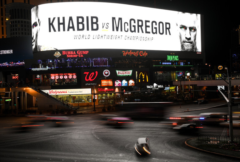 Khabib exits after McGregor 'disrespect'