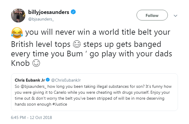 Billy Joe Saunders vacates WBO title to focus on clearing his name