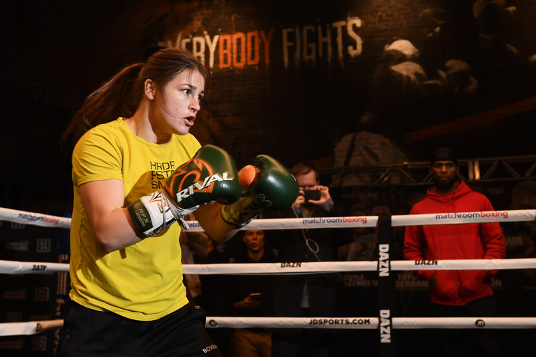 Andrade vs Kautondokwa: Katie Taylor relishing 'toughest career fight' with Cindy Serrano class=