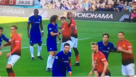 Manchester United didn't play - David Luiz blasts Mourinho tactics