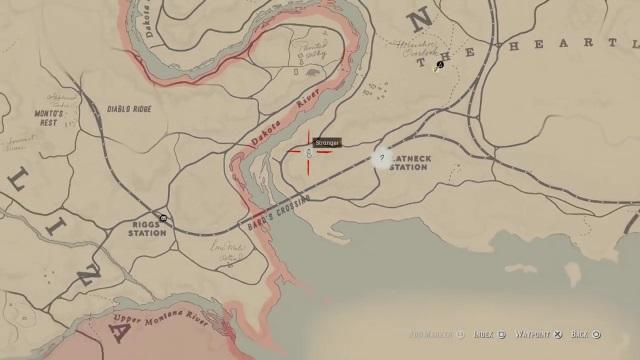 Rdr2 Karte.How To Solve Jack Hall Gang Map In Red Dead Redemption 2 Balls Ie