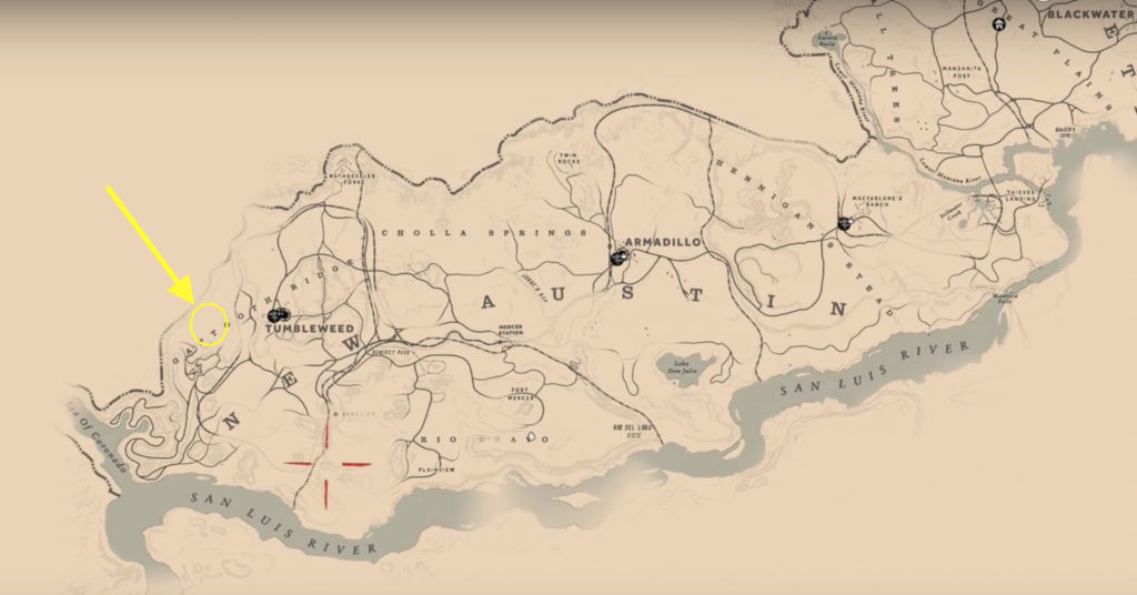 Legendary Cougar Location In Red Dead Redemption 2