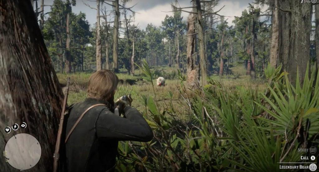 legendary boar in red dead redemption 2