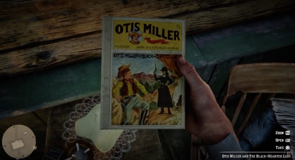 Penny Dreadful Book In Red Dead Redemption 2