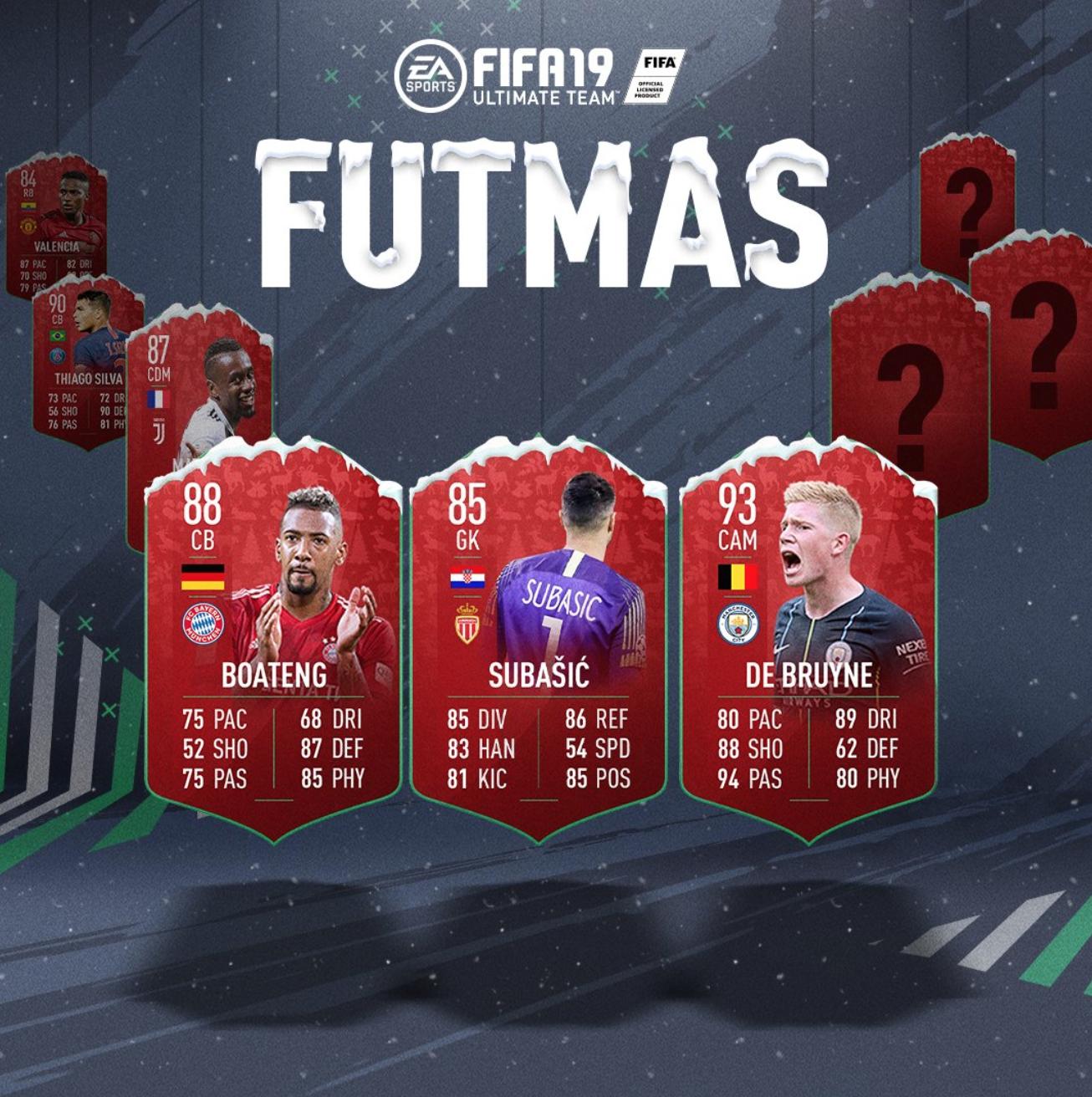 FIFA 19 FUTMAS Day 11: FUTMAS Rewards & futmas SBCs Revealed