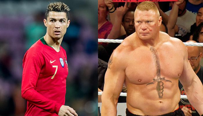 Ronaldo & Brock Lesnar