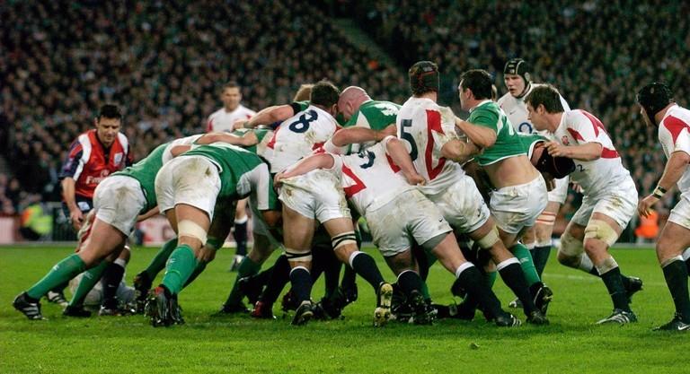 Ireland versus England