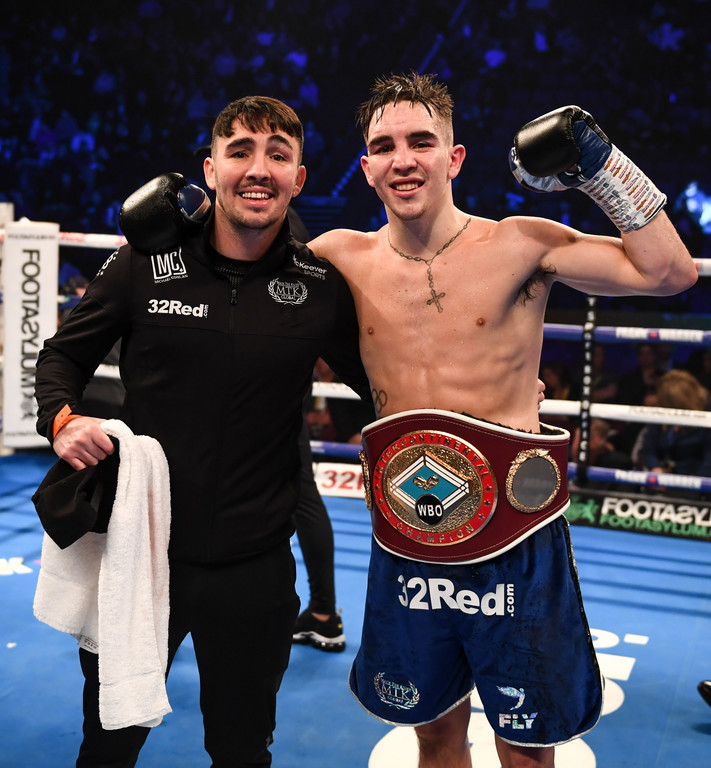 what time is michael conlan fighting