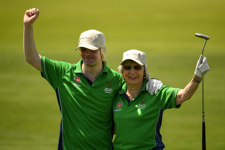 Andrew Simington, Phyl Kelleher, Special Olympics, Team Ireland