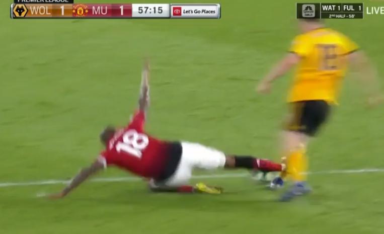Wolves vs Manchester United, Premier League