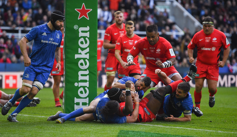 Leinster 10 Saracens 20 - Sarries hit new heights in Newcastle showpiece