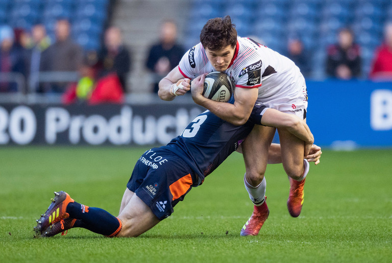 Jacob Stockdale in action for Ulster
