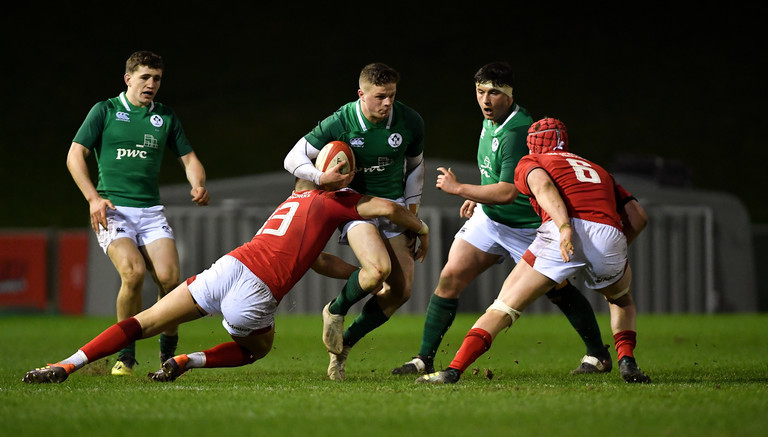 Ulster men give Ireland U20s flying start in World Championship England win