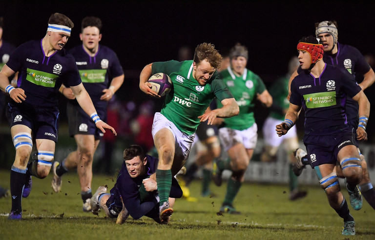 England U20s brushed aside by strong Ireland