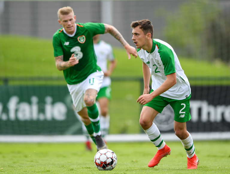 Ireland U21 players