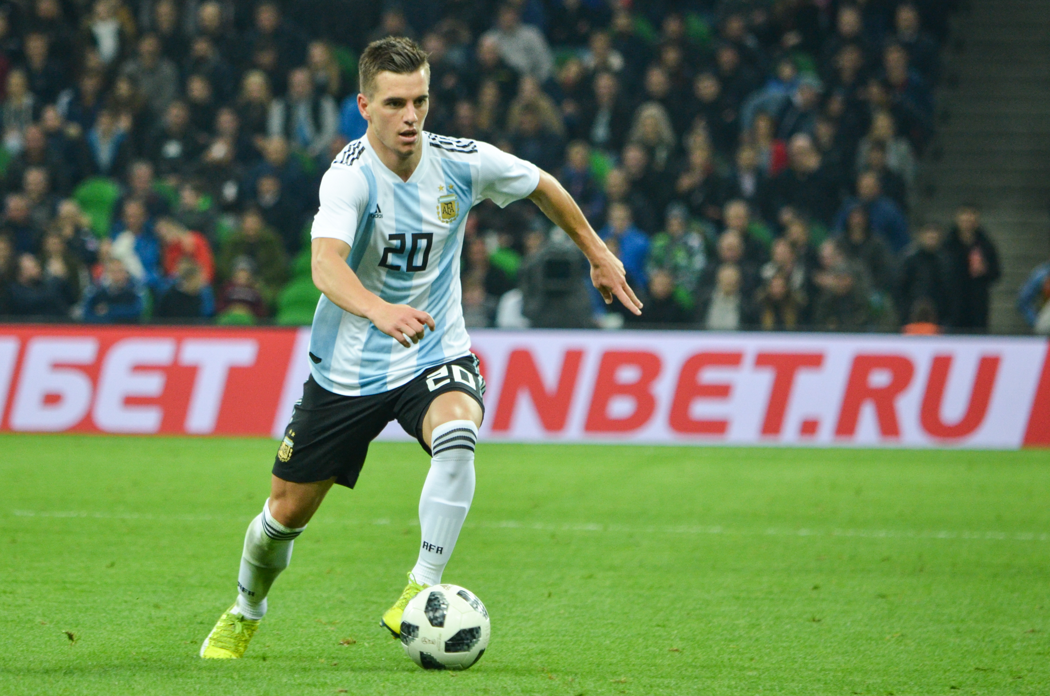 Image result for giovani lo celso