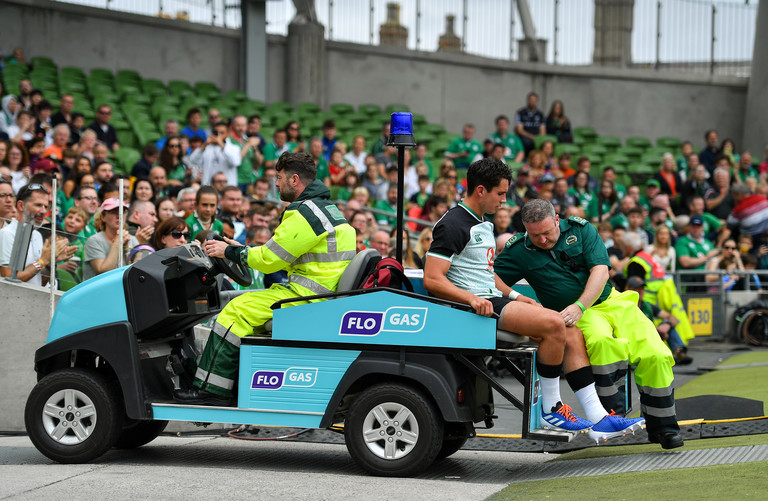 Schmidt hopeful Carbery has avoided serious injury
