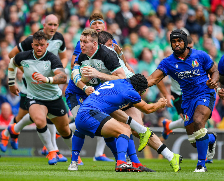 Rugby Review: Ireland beat Italy with England up next