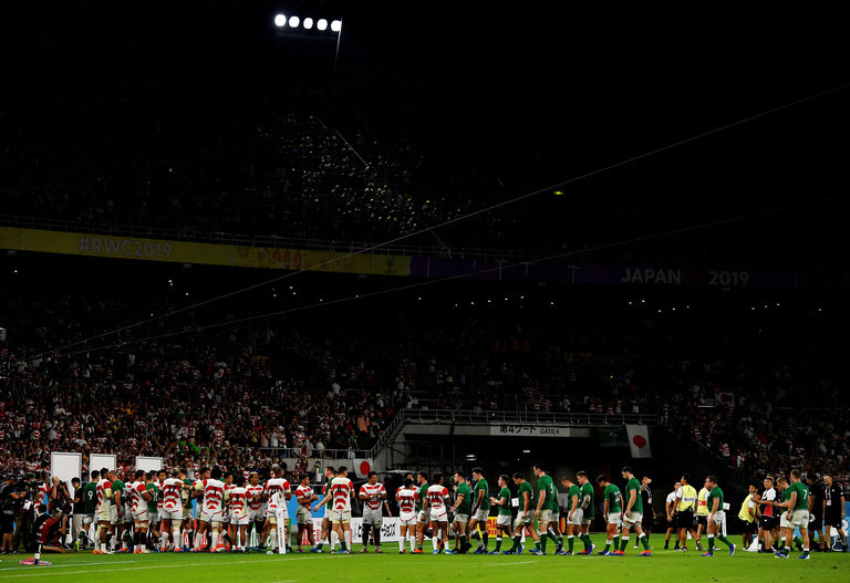 The Updated Pool A Permutations Following Ireland's Shock Defeat To Japan