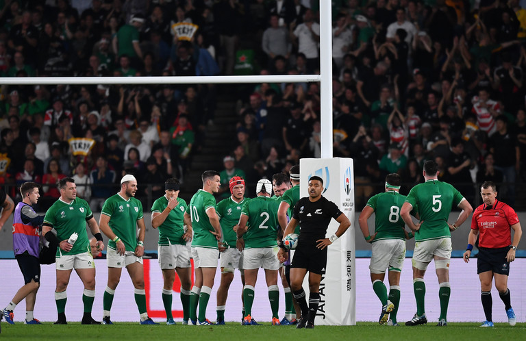 Ireland player ratings new zealand