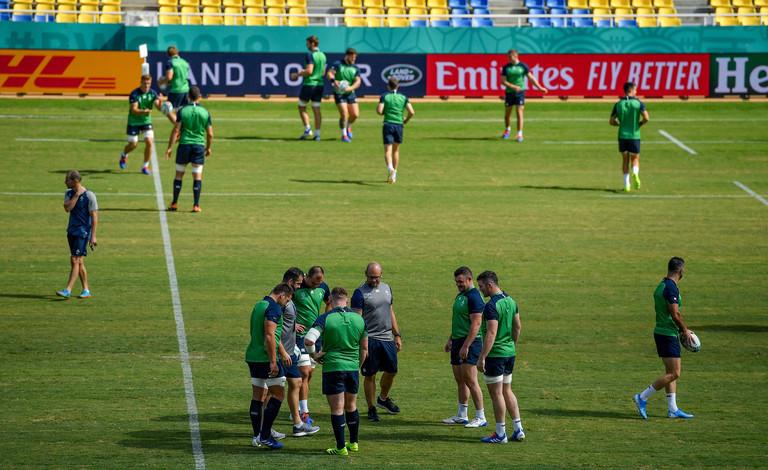 ireland team start six nations