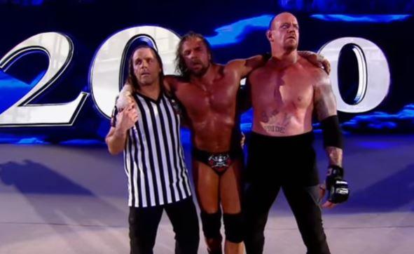 WWE Undertaker Triple H