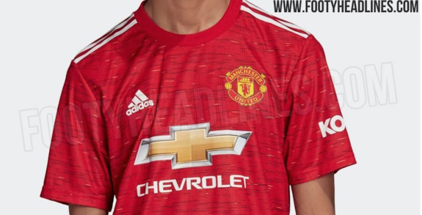Manchester United S New Home Kit For 2020 21 Season Has Been Leaked Balls Ie