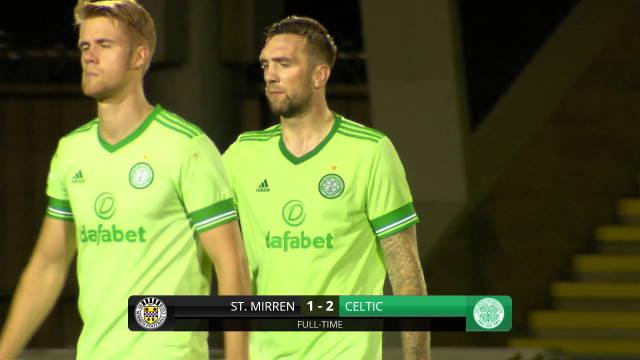 shane duffy goal celtic st mirren